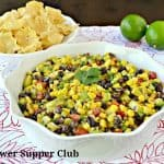 Chipotle, Corn, and Avocado Salad or Dip