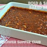 Bold and Saucy Baked Beans