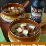 Bacon Cheeseburger Ale Soup