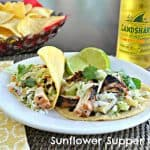 Chipotle Grilled Chicken Tacos with Pineapple Slaw