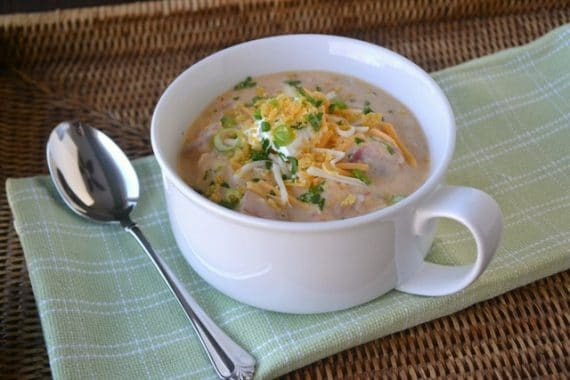 Southwest Chicken Chowder … for a Change